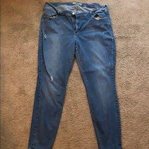 Old Navy size 20 rockstar skinny jeans